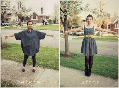 22 Δημιουργικές Ιδέες για Παλιά Πουκάμισα!   Φτιάξτο μόνος σου - Κατασκευές DIY - Do it yourself
