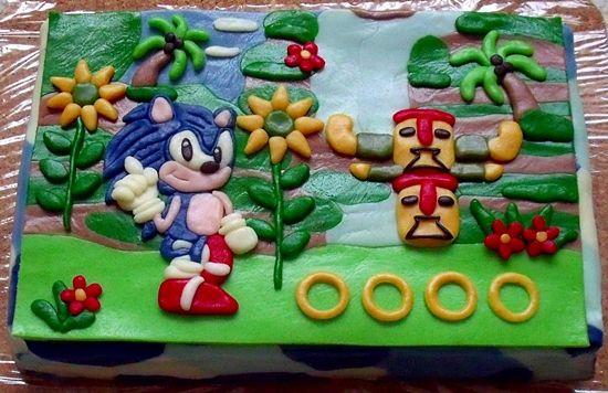 Sonic dort :)