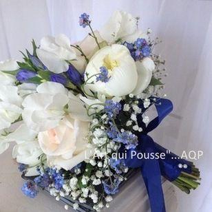 Bouquet mari e vintage bleu recherche google bouquet mari e pinterest nature bouquets - Bouquet mariee bleu ...