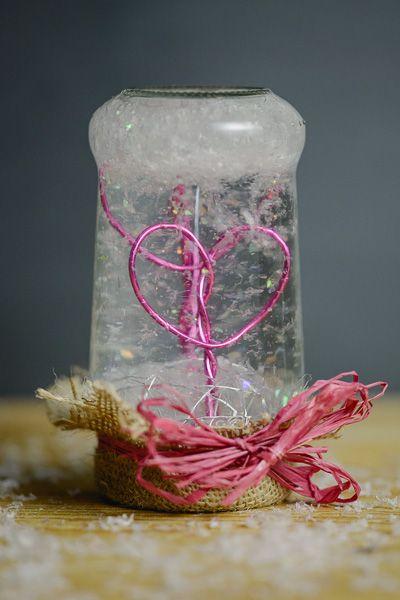 Schneekugel - Liebe liegt in der Luft - Klabüstermann