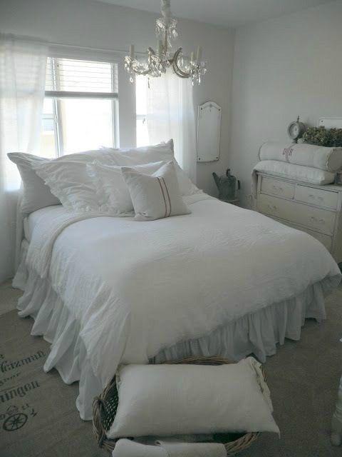 30 Shabby Chic Schlafzimmer Deko Ideen Decoration Chambre