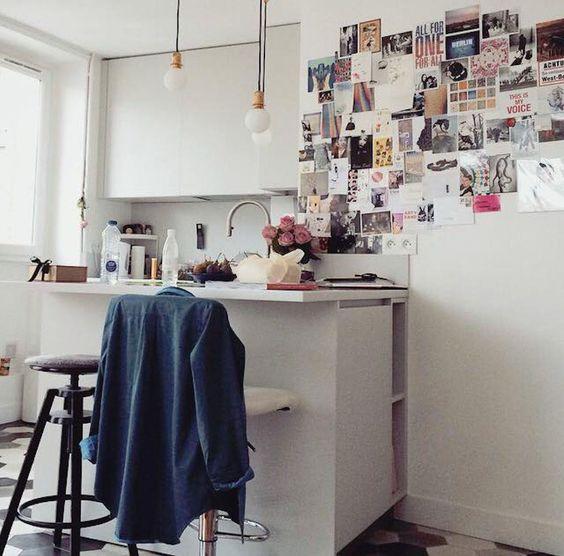 室內擺設,廚房篇 – Une Fille aux Cheveux Noirs