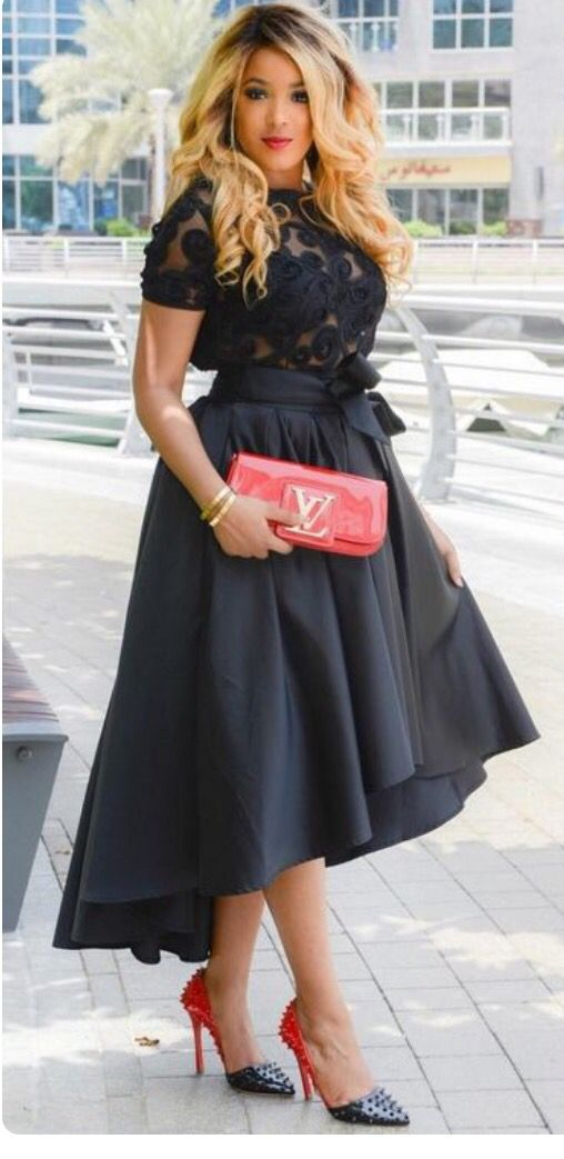Ball skirt formal wear