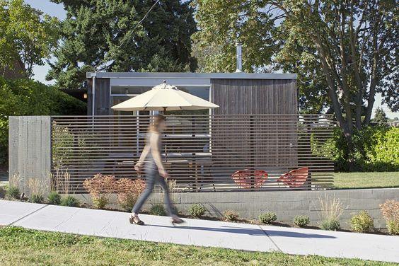 Landscape design by SHED Architecture & Design
