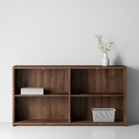Horizontal Bookcase Made By Design Target Horizontal Bookcase Home Office Design Low Bookcase