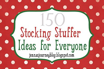 Stocking stuffer ideas (not homemade)