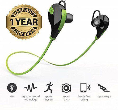 Lambent Bluetooth Headset For Samsung On Pro Moto G5 Iphone 6 7 Redmi Note 4 Micromax Sony Xa1 Nokia Smartphones Headset Wireless Headphones Headphones