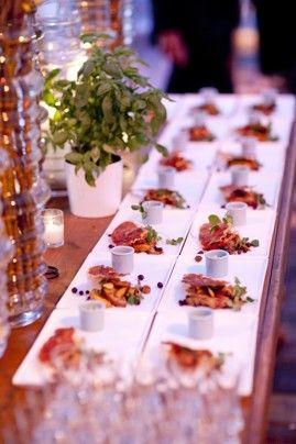 Sangria Salad from Peter Callahan Catering.  Mel & Co / Peter Callahan Cater