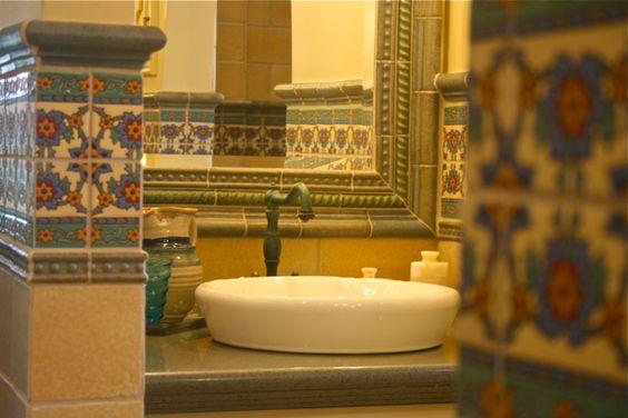 Pinterest the world s catalog of ideas for Mexican tile bathroom ideas
