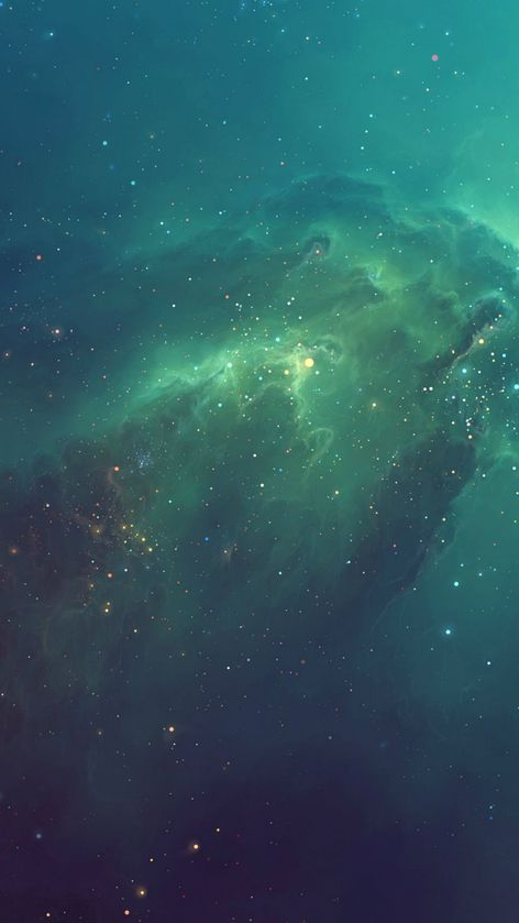 Green Starry Iphone 6 Wallpaper Tumblr Iphone Wallpaper Nebula Wallpaper Galaxy Wallpaper