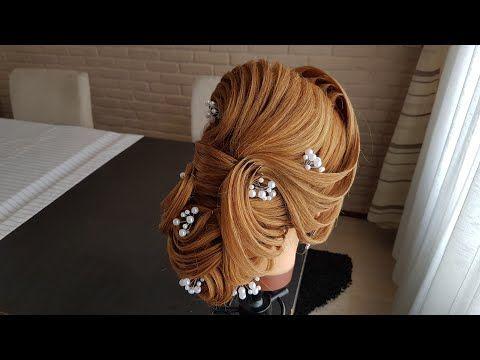 Beautiful French Twist For Long Hair أجمل تسريحة فرنسية للشعر الطويل Youtube Hair Styles French Twist Hair Long Hair Styles Men
