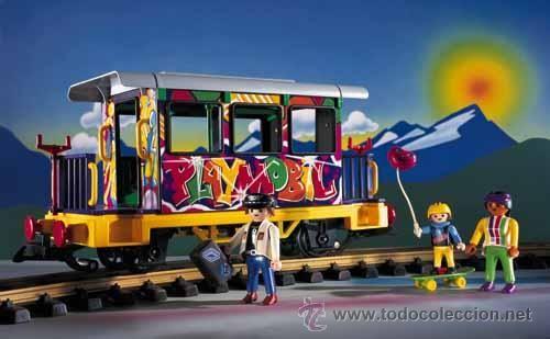Playmobil and trains on pinterest - Train playmobil ...
