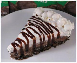 PATTI'S PANTRY: Triple Layer Thin Mint Pie