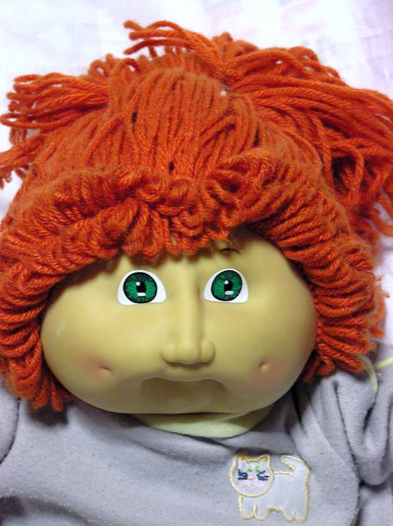Cabbage Patch Red Head