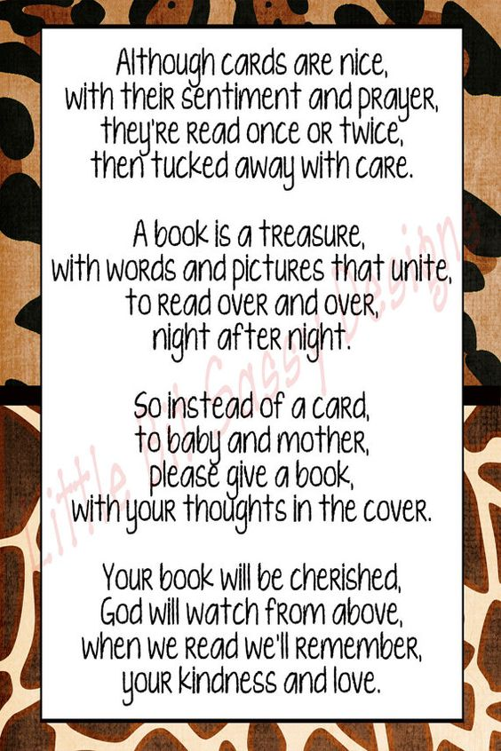 bebe baby shower poems and paragraph on pinterest