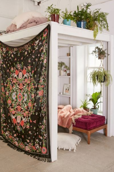 Plum & Bow Rosa Floral Scarf Tapestry - Urban Outfitters: