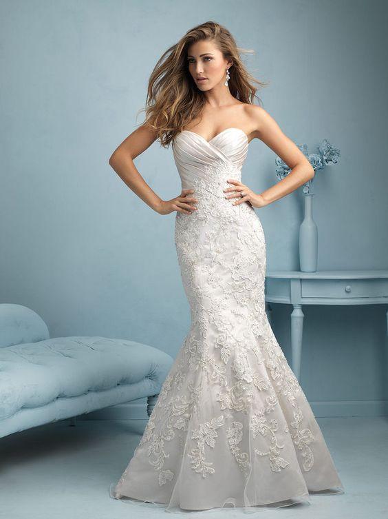 New Brides Wedding Dress White/Ivory Bridal Ball Gown Custom Size 4/6/8/10/12++ #9216