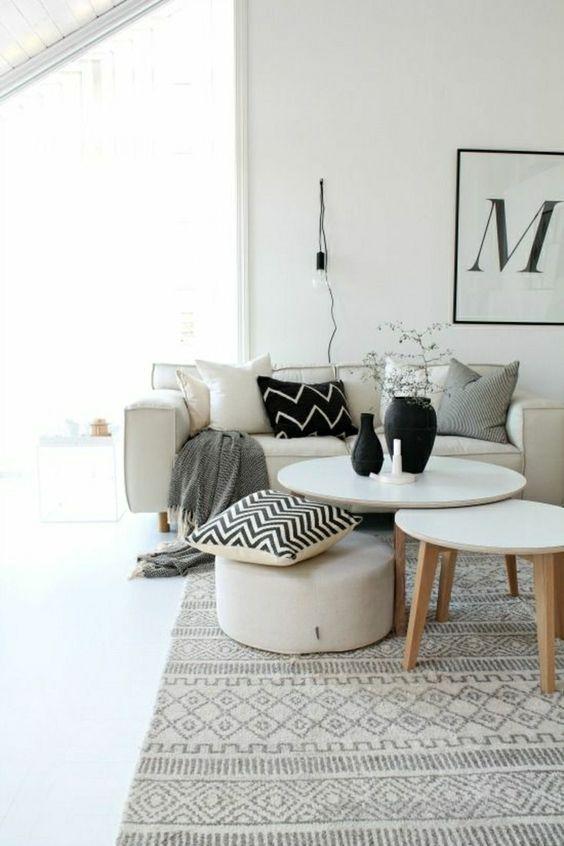 Choisir Le Meilleur Tapis Scandinave Avec Notre Galerie Motifs Design Et Tables