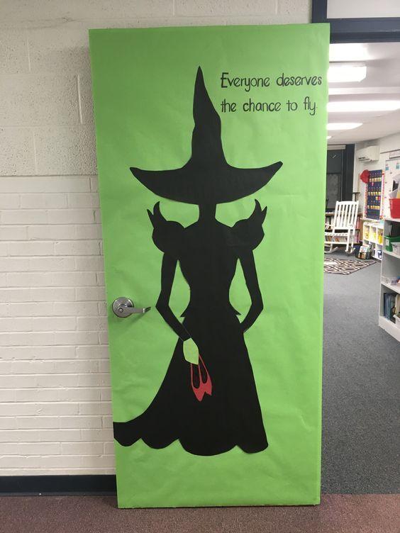 Halloween Classroom Door Ideas In 2020 Halloween Classroom Door Halloween Classroom Halloween Classroom Door Decor