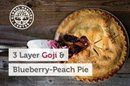 Three-Layer Goji Blueberry Peach Pie http://ow.ly/AFQQ302M6Dh #AllNatural #NoChemicals