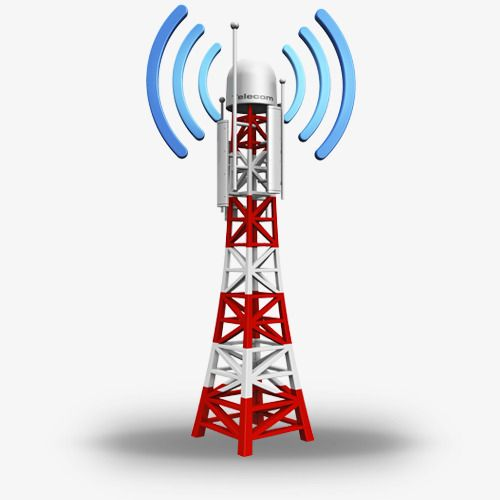 Cartoon Signal Tower Launcher Cartoon Clipart Leave The Material Png Picture Png Transparent Clipart Image And Psd File For Free Download Tower Communication Tower Cell Tower