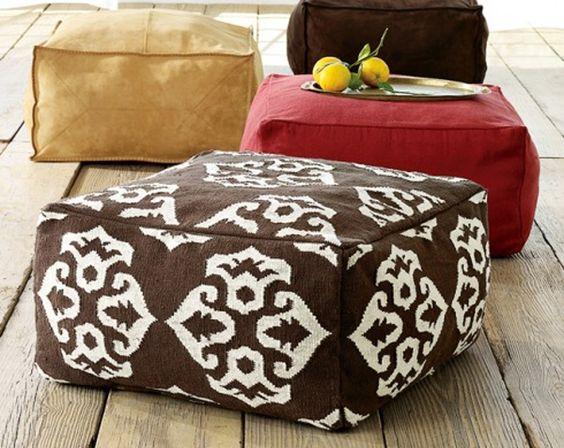 DIY Square Floor Cushions