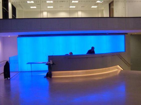 BARTHOLOMEW LANE RGB LED Light Wall - Reception Area