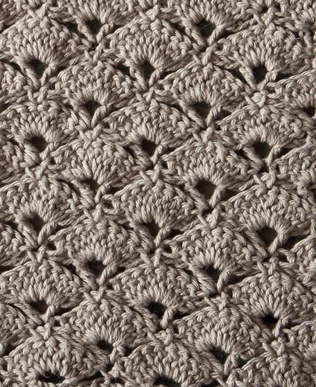Knitting Pattern For Age : Jazz Age Crochet Washcloth - Knitting Patterns and Crochet Patterns from Knit...