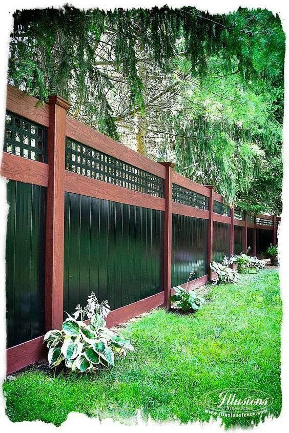 27 Unique Privacy Fence Ideas You May Consider With Images