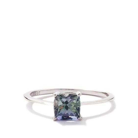 Bi-Colour Tanzanite Gold Ring
