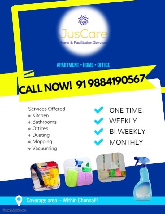 Copy Of House Cleaning Services Flyer Poster Template Cleaning Service Flyer House Cleaning Services Clean House