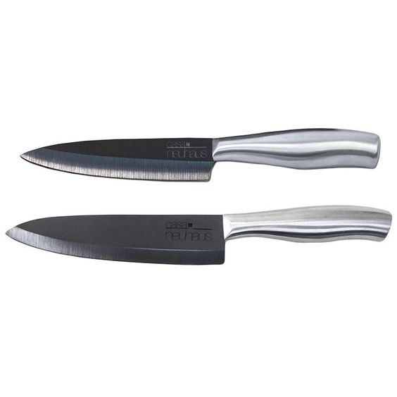 Casa Neuhaus Chef Knife Set - 5 inch Utility Knife & 7 inch Chef's Knife