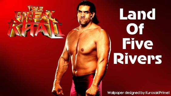 "WWE: The Great Khali 3rd Theme Song - ""Land Of Five Rivers"" + Download L..."