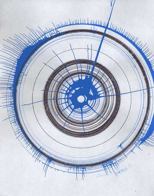 Spin Drawings 01 : Dylan Fisher