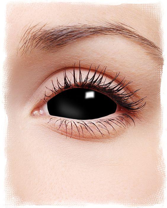 Black Sclera Kontaktlinsen | Sklerallinsen | Full Eye Linsen | horror-shop.com