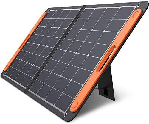 Jackery Solarsaga 100w Portable Solar Panel For Explorer 160 240 500 Power Station Foldable In 2020 Portable Solar Panels Solar Panels Solar Panel Charger