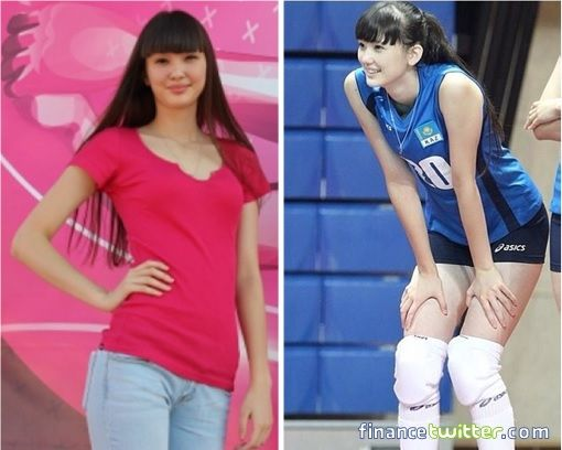 Meet Sabina Altynbekova The Volleyball Babe Whose Beauty Attracts Crazy Fans Photo Sport Girl Volleyball Sabina
