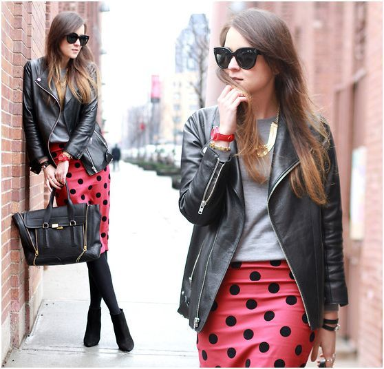 stylescrapbook  red polka dots