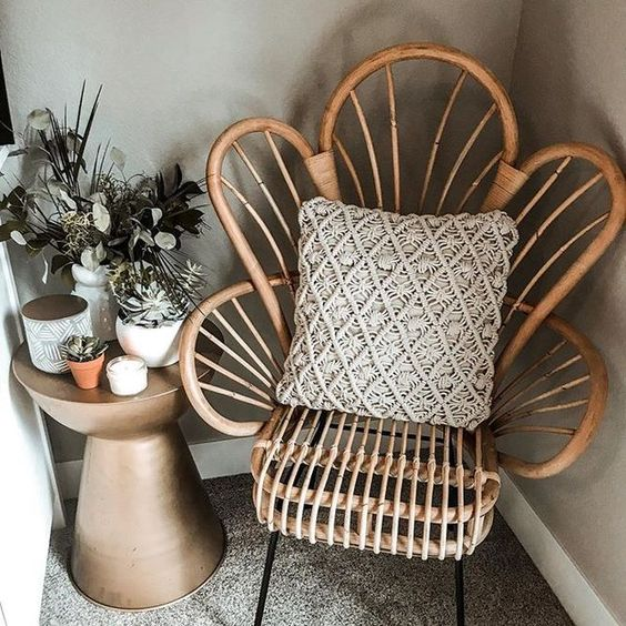 "You'll feel like royalty perched on this Avocet Rattan Fan-Back Accent Chair from Opalhouseâ""¢. The fan back gives it a striking scalloped look, making it a stand-out piece in any room you put it in. The natural-toned rattan blends seamlessly with any color scheme, so you can brighten it up with a vibrant throw pillow or keep it simple with a neutral blanket draped over the side.This is your house. Where you create spaces as bold as your spirit. Collect objects as inspired as your dre"