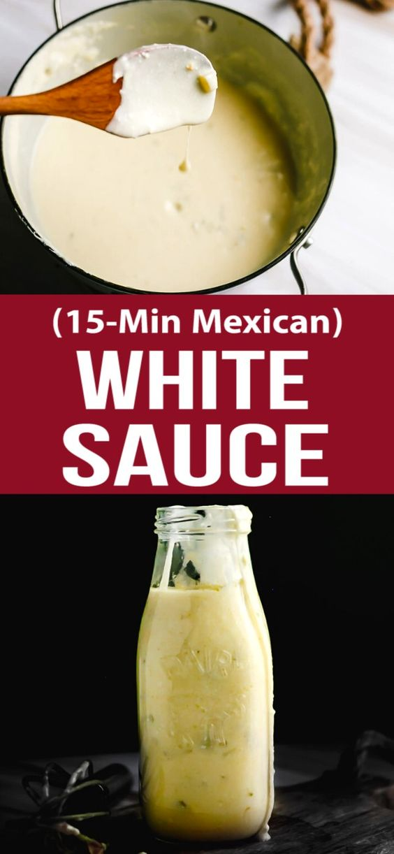15-Min Mexican White Sauce
