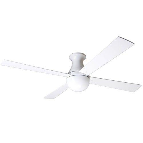 Add Light To Ceiling Fan: Ball Hugger Ceiling Fan & Modern Fan Company Ball Hugger | YLighting (add  light),Lighting