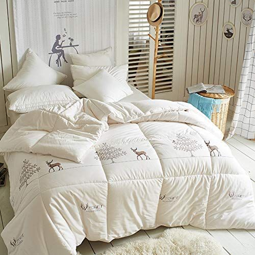 Hjyyxl Cotton Thick Warm Winter Quilt Comforter All Season Printed