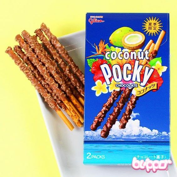 Pocky Biscuit Sticks (coconut chocolate)
