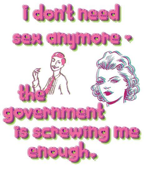 Politics & sex - who'da thought.