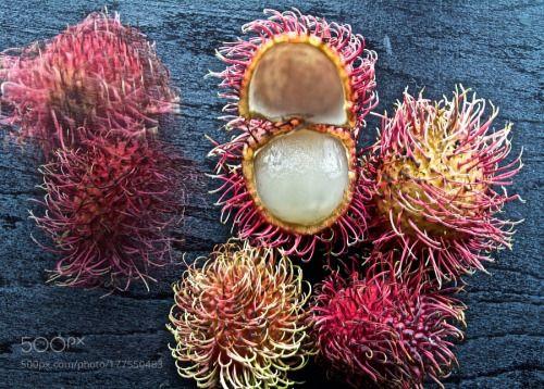 Fresh Rambutan by BachirBadaoui1  IFTTT 500px