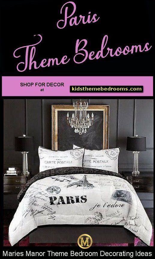 Paris Themed Bedrooms In 2020 Paris Bedroom Paris Decor Bedroom