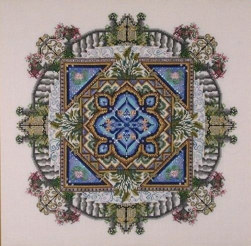 10/% Off Chatelaine Counted X-stitch Chart The Hydrangea Autumn Fog Mandala