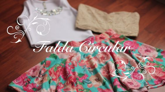 ¡¡¡Como hacer una Falda circular perfecta!!! con una explicación del molde