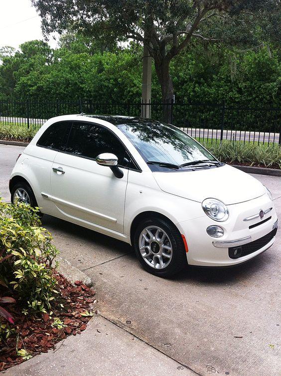 My new Fiat 500