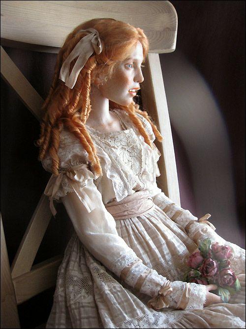 Mikhail Zaikov Авторская кукла Михаила Зайкова шарнирная рыжая:
